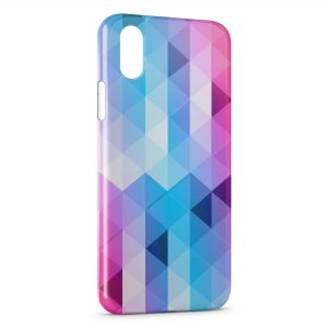 Coque iPhone X & XS 3D Diamond Colors