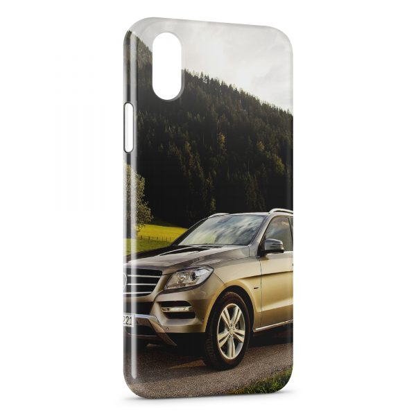 Coque iPhone X & XS 4x4 Mercedes Cross Over 2