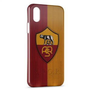 Coque iPhone X & XS AS Roma Football 2