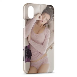 Coque iPhone X & XS Adriana Lima