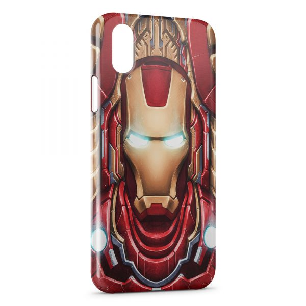 Coque iPhone X & XS Advenger Iron Man 3 Red