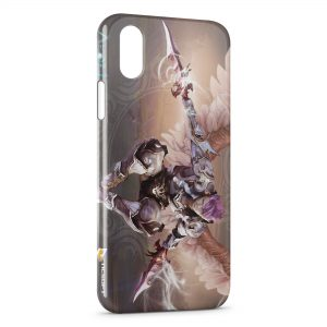 Coque iPhone X & XS Aion Game