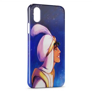 Coque iPhone X & XS Aladdin Design Art
