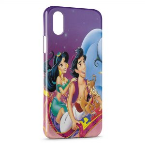 Coque iPhone X & XS Aladdin Tapis volant