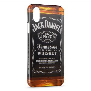 Coque iPhone X & XS Alcool Jack Daniel's