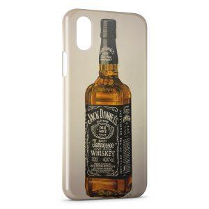 Coque iPhone X & XS Alcool Jack Daniel's vintage
