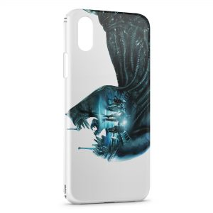 Coque iPhone X & XS Aliens