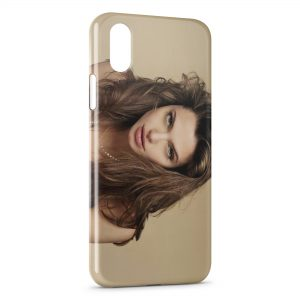 Coque iPhone X & XS Angelina Jolie
