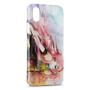 Coque iPhone X & XS Anime Girl Manga