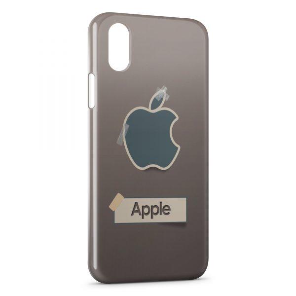 Coque iPhone X & XS Apple Desktop
