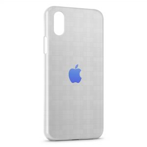 Coque iPhone X & XS Apple Logo 3
