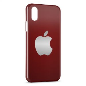Coque iPhone X & XS Apple Logo 4