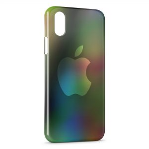 Coque iPhone X & XS Apple Logo 5