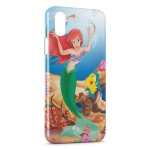 Coque iPhone X & XS Ariel La Petite Sirène 4
