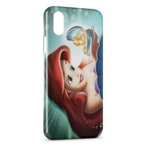 Coque iPhone X & XS Ariel Petite Sirène 2