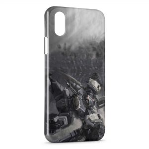 Coque iPhone X & XS Armored Core Game