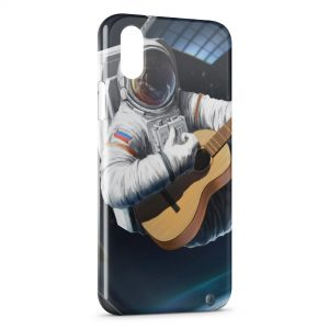 Coque iPhone X & XS Astronaute & Guitare