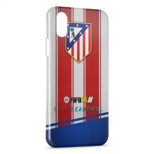 Coque iPhone X & XS Atletico de Madrid Football