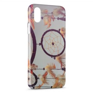 Coque iPhone X & XS Attrape Rêve Vintage