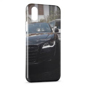 Coque iPhone X & XS Audi R8 voiture