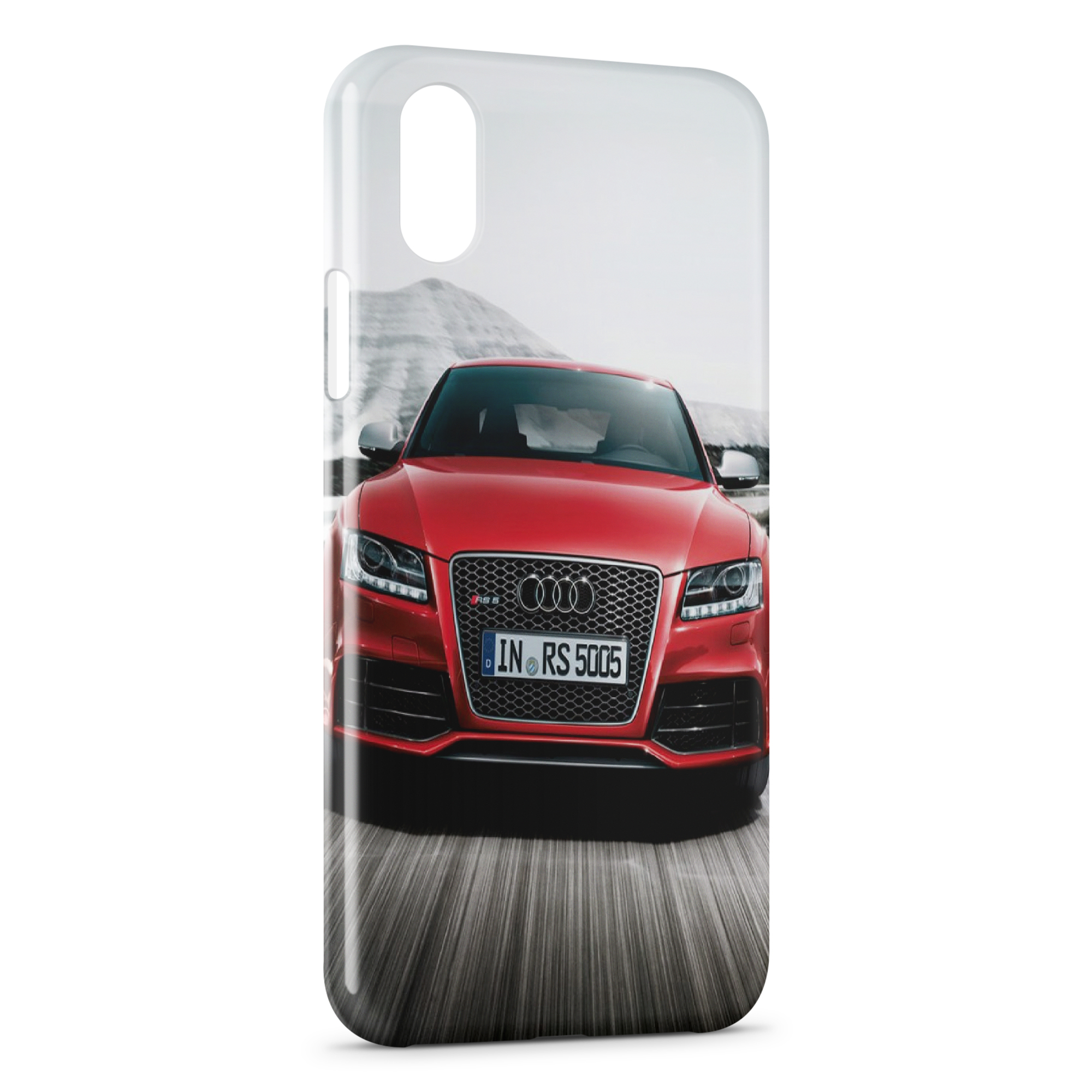 audi coque iphone x