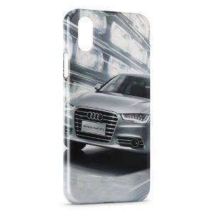 Coque iPhone X & XS Audi voiture sport