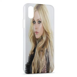 Coque iPhone X & XS Avril Lavigne