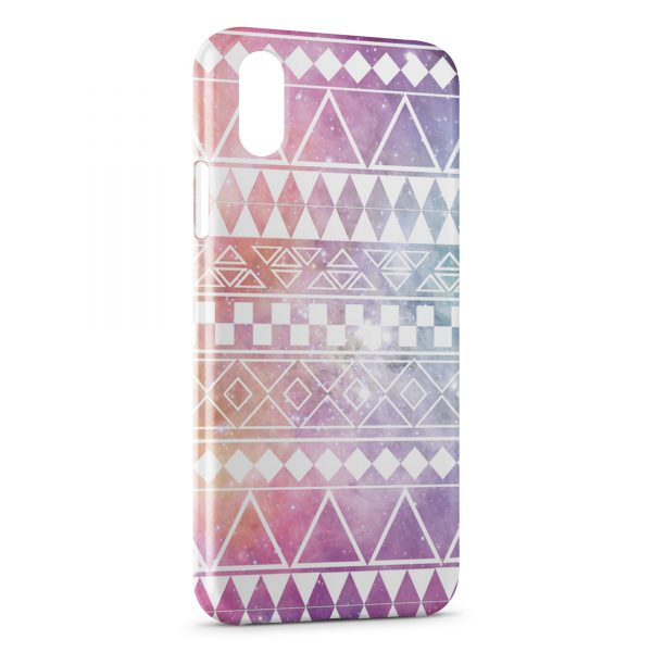 Coque iPhone X & XS Aztec Galaxy