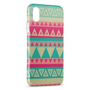 Coque iPhone X & XS Aztec Style 10