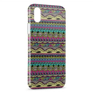 Coque iPhone X & XS Aztec Style 7