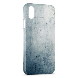 Coque iPhone X & XS Béton Griffé