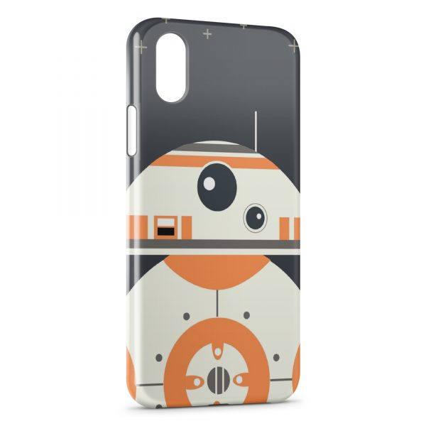 Coque iPhone X & XS BB8 Star Wars Graphic