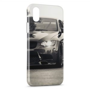 Coque iPhone X & XS BMX luxe voiture