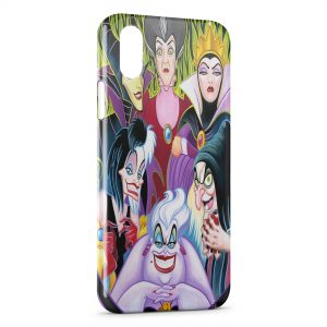 Coque iPhone X & XS Bad Girls Méchantes Disney