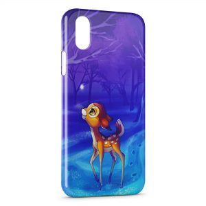 Coque iPhone X & XS Bambi Cute
