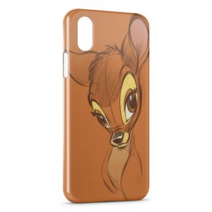Coque iPhone X & XS Bambi Dessin Art