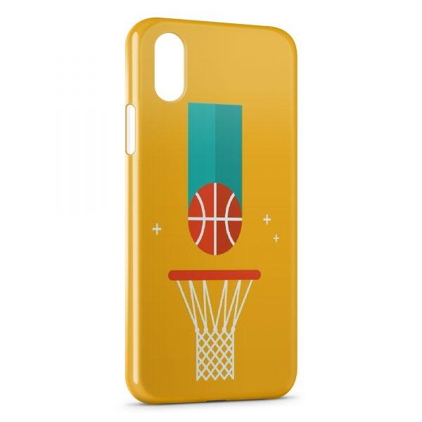 Coque iPhone X & XS BasketBall Light