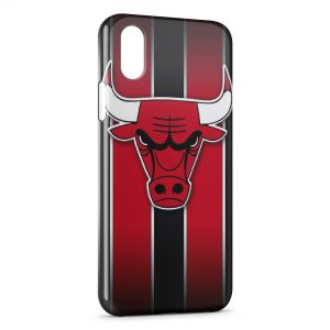Coque iPhone X & XS Basketball Chicago Bulls 3
