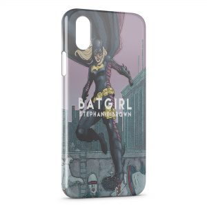 Coque iPhone X & XS Batgirl Stephanie Brown