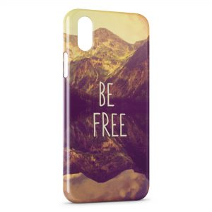 Coque iPhone X & XS Be Free