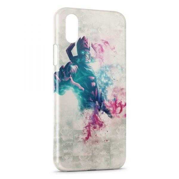 Coque iPhone X & XS Beautiful Art Hero
