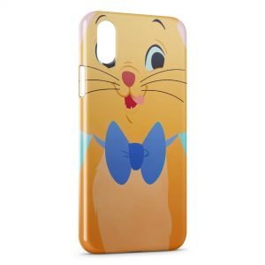 Coque iPhone X & XS Berlioz Aristochats