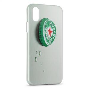 Coque iPhone X & XS Bière Heineken