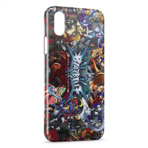 Coque iPhone X & XS BlazBlue Game
