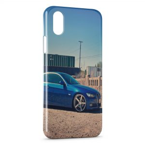 Coque iPhone X & XS Blue BMW Voiture