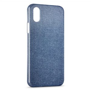 Coque iPhone X & XS Blue Jean