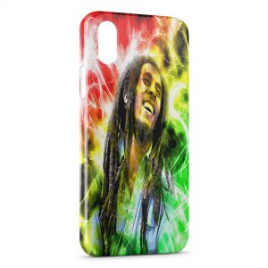 Coque iPhone X & XS Bob Marley