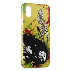 Coque iPhone X & XS Bob Marley No Woman No Cry
