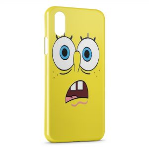 Coque iPhone X & XS Bob l'eponge 7