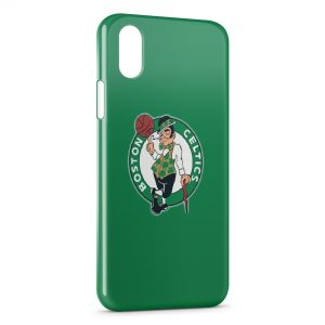 Coque iPhone X & XS Boston Celtics Basketball